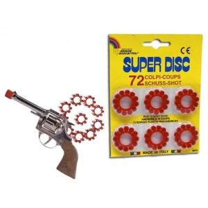 No sé si esto era común o si realmente los adultos que estaban a cargo mío no cachaban mucho, pero lo pasé súper bien con estas pistolas que vendían en Importadoras Camila