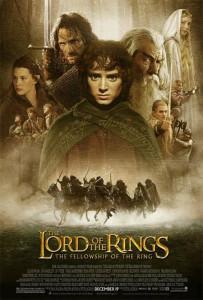 La única colección que logré completar: los pósters del Señor de los Anillos que venían en La Tercera